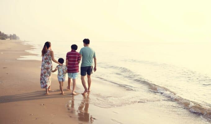A family walking together, a healthy and familiar practice to get into the habit | Korean Women's Secret to Beauty & Longevity | The Alchemist Kitchen