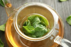 Lemon Balm can be used in teas to help in your sober journey.