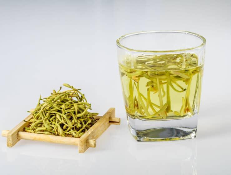 Dried honeysuckle tea | The Alchemists Kitchen