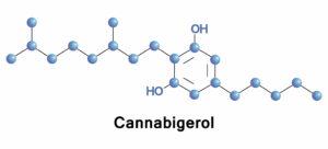 Cannabigerol molecule