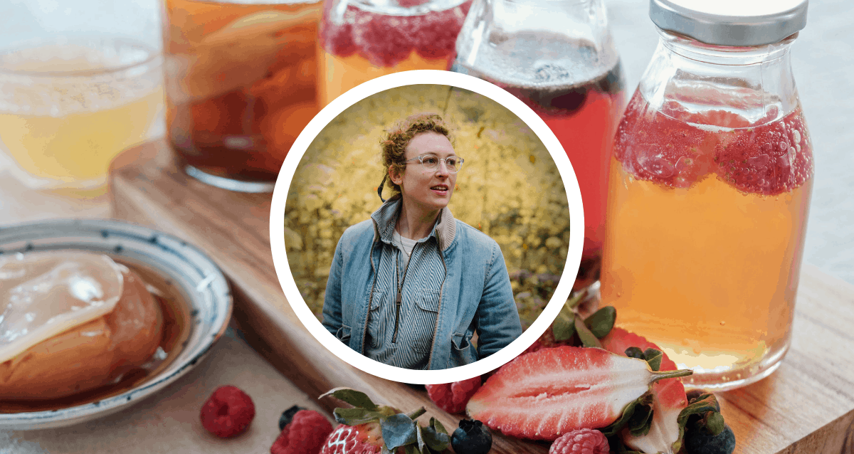 A Sensory Exploration of Fermented Foods: How Kraut, Kombucha, and Herbal Vinegars support Digestion and Whole Body Health