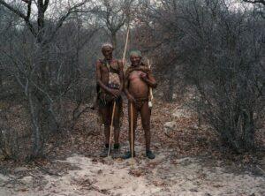 Two bushmen on their adventure.