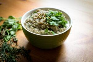 Liver-Protecting Eggplant Cauliflower Soup| The Alchemists Kitchen