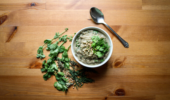 Eggplant cauliflower soup | Liver-Protecting Eggplant Cauliflower Soup| The Alchemists Kitchen