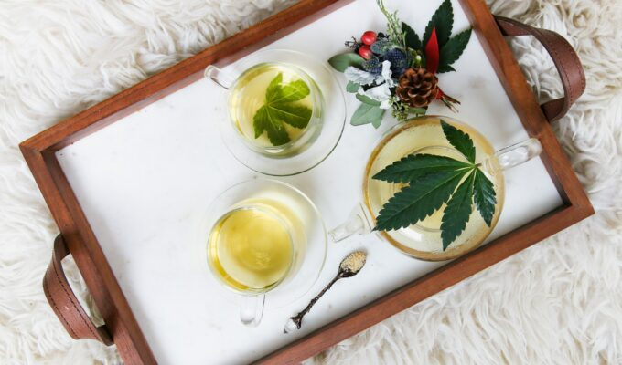 Water-soluble CBD in tea form!