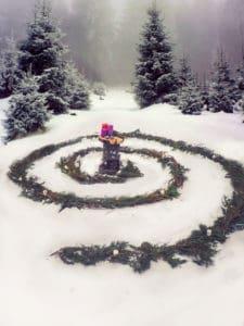 Yule spiral
