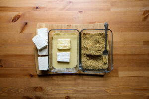 Seeded tofu for the yang bowl | the Alchemists Kitchen